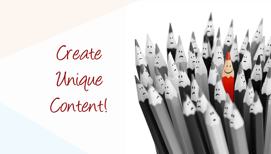 What's A Key To Successfull Business? Create Unique Content!