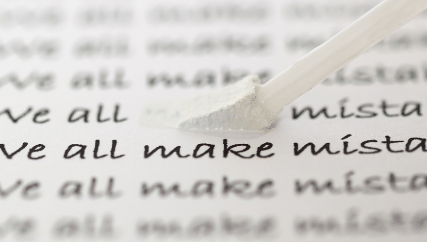 Seven Common Mistakes That Most Writers Do, But Should Avoid
