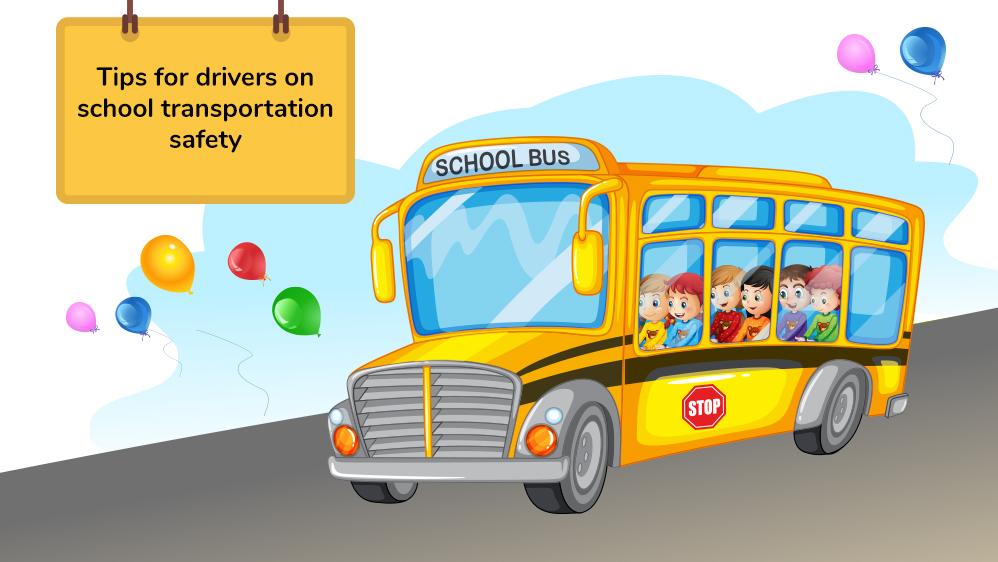 Transportation Sample Post: Tips for Drivers on School Transportation Safety